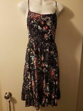 Multi Coloured Floral Sundress Sz 14