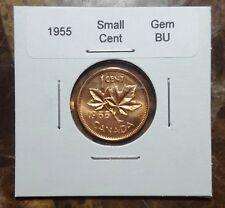 Canada 1955 Small Cent BU Red Gem!!