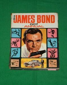 Vintage JAMES BOND 007 TV Movie Film Sci-fi ANNUAL BOOK 1966