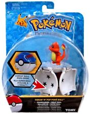 Pokemon Throw 'n' Pop Pokeball Charmander & Great Ball Figure Set