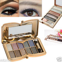 12 Colors Professional Shimmer Eyeshadow Palette Natural Nude Smoky  Eye shadow