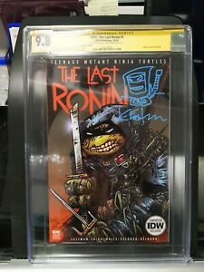 TMNT Last Ronin #1 NYCC Variant CGC 9.8 Signed By Kevin Eastman