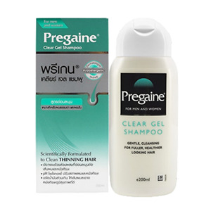 200ml Pregaine Clear Gel Shampoo Apply With Normal/Oily Hair Prevent HairLoss