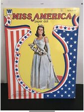 Vintage Whitman Miss America 1976 Tawny Little Paper Dolls Complete