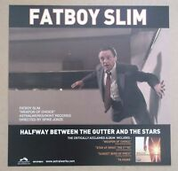 FATBOY SLIM Halfway Between The Gutter And The Stars UK promo only display flat