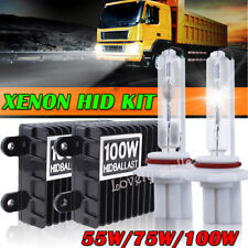 55W 75W 100W Hid Xenon Car Headlight Conversion Kit 5000/6000/8000/10000K  KH