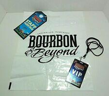 2018 BOUBON & BEYOND Festival Lanyard with VIP Badge, Staff Parking Pass & Bag
