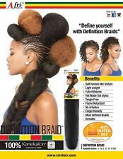 (Pack of 3) ISIS Afri-Naptural 100% Kanekalon Hair DEFINITION BRAID 1b off black