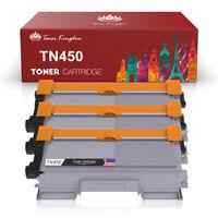 3PK Black TN450 Toner Cartridge For Brother TN-420 HL-2220 2240 2270DW MFC-7360N