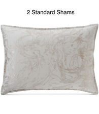 Hotel Collection Marble (2) Standard Pillow Shams $270 New