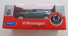 WELLY 1:60 DIECAST VOLKSWAGEN MODEL CAR GREEN BRAND NEW