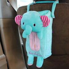 NEW Car accessories Cute elephant Plush Car Tissue Box Cover S