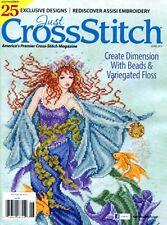 Just Cross Stitch Magazine 25 Designs ~ May June 2017 #617