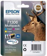 Epson Durabrite T1306 Stag Multipack Cartuchos De Tinta Genuino Genuino Nuevo