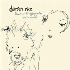 Damien Rice Live At Fingerprints Warts & All vinyl LP NEW sealed