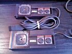 x 2 Official Sega MASTER SYSTEM Early Versions Controllers Bundle Game Pad