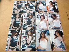 SET OF 12 4X6 PHOTOS OF ASIANS IMPORT CAR MODEL KAI LANSANGAN AKA XENA KAI Z-7
