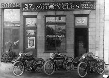 Vintage Indian Motorcycle Photo 1916 Motorcycles Dealership Powerplus Bikes Shop