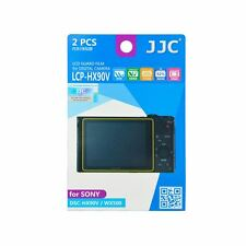 JJC LCP-HX90V LCD Screen Protector Guard Film Cover for Sony DSC-HX90V, WX500