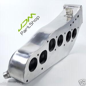 Polished Aluminum Intake Manifold for Nissan Skyline R32 GTS RB20 RB20DET Engine