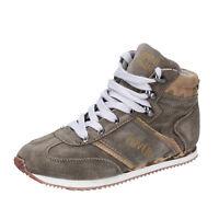 scarpe bambino ENRICO COVERI 31 EU sneakers beige camoscio BX823-31