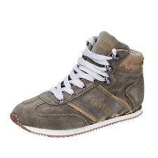 scarpe bambino ENRICO COVERI 37 EU sneakers beige camoscio BX823-37