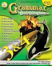 Grammar, Grades 3 - 4 (Daily Skill Builders) by Barden, Cindy