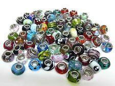 25 GLAS BEADS * Bead Perlen Modul - Mix Paket Set * Schmuck SPARPAKET