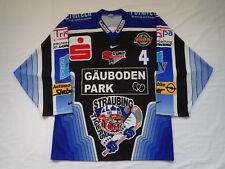 Straubing Tigers Game Worn DEL Hockey Jersey Pro Stock Player game