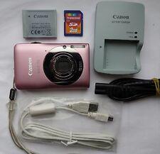Canon IXUS 105 12.1MP Fotocamera Digitale-Rosa