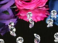 SUPER SPARKLE WEDDING TABLE DECORATION CONFETTI SCATTER CRYSTALS DIAMONDS 10MM