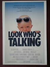 POSTCARD B16 ADVERT FILM POSTER FOR 'LOOK WHO'S TALKING'