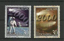 CEPT 2000-Raumfahrt/ Jugoslawien MiNr 2975/76 **