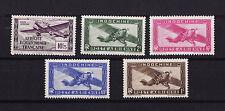 lot 5 timbres  poste aérienne avant indépendance   indochine et  AEF  **