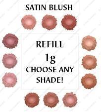 Pure Cosmetics Mineral Satin Bare Blush Natural Makeup Powder Organic Minerals