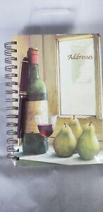 Address Book With Pen Fabrice De Villeneuve. Condition is New