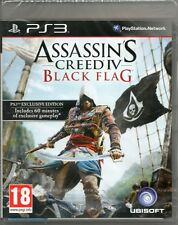 ASSASSIN's Creed IV: BLACK Flag GIOCO PS3 assassini (4) ~ NUOVI / SIGILLATI