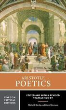 Norton Critical Editions: Poetics 0 by James Hutton, David Gorman, Aristotle...