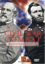 CIVIL WAR COMBAT (HISTORY CHANNEL 2 DISC SET) NEW AND SEALED