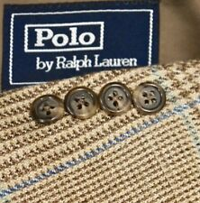 46L Polo Ralph Lauren Corneliani SILK LINEN Windowpane TWEED Sport Coat Blazer