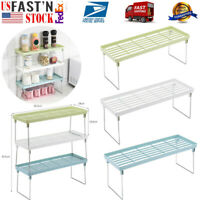 Standing Rack Kitchen Bathroom Countertop Storage Shelf Seasoning Spice Rack US