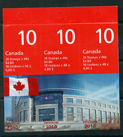 Weeda Canada 1991b, BK251Aa Booklet of 30 with Vancouver 2010 overprint CV $60