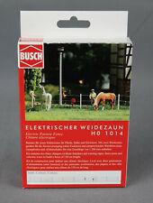 Busch 1014 H0 Bausatz - Elektrischer Weidezaun - NEUWARE!
