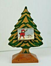 Vintage 1941 Souvenir Christmas Tree and Calendar from Milwaukee Wisconsin