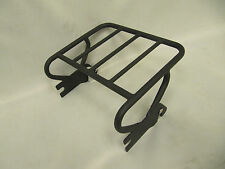 Black Detachable Two-Up Luggage Rack for 1997-2008 Harley Davidson Touring