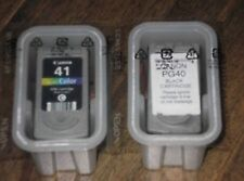 10 Used COMPATIBLE  CANON CL41/PG 40 Cartridges