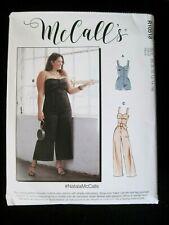 New McCalls Sewing Pattern R10518 / M8101 Miss & Women'S Romper Jumpsuit 8-24W