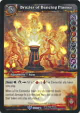 World of Warcraft WoW TCG FOIL Promo Brazier of Dancing Flames Holiday 4 *MINT