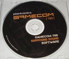 CD-DVD  DRIVER PILOTE PLANTRONICS GAMECOM 780 SOFWARE.