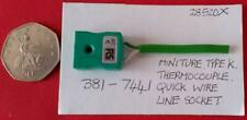 RS minature In-Line Skt. Connector for use with Type K Thermocouple 381-7441